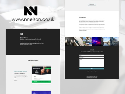 Cleaner Portfolio responsive web freelance portfolio development design website