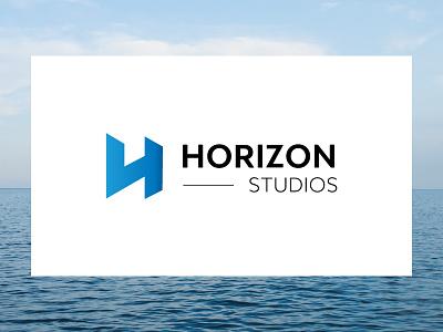 Horizon Studios project dev studio design agency logo brand studios horizon