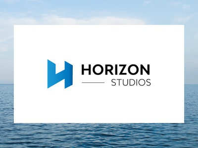 Horizon Studios project dev studio design agency logo brand studios horizon