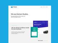 We are Horizon Studios.