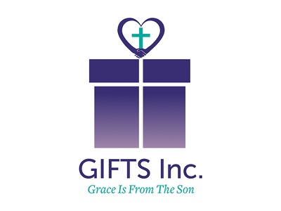 GIFTS Inc - Logo Design gifts brand faith christian charity design logo