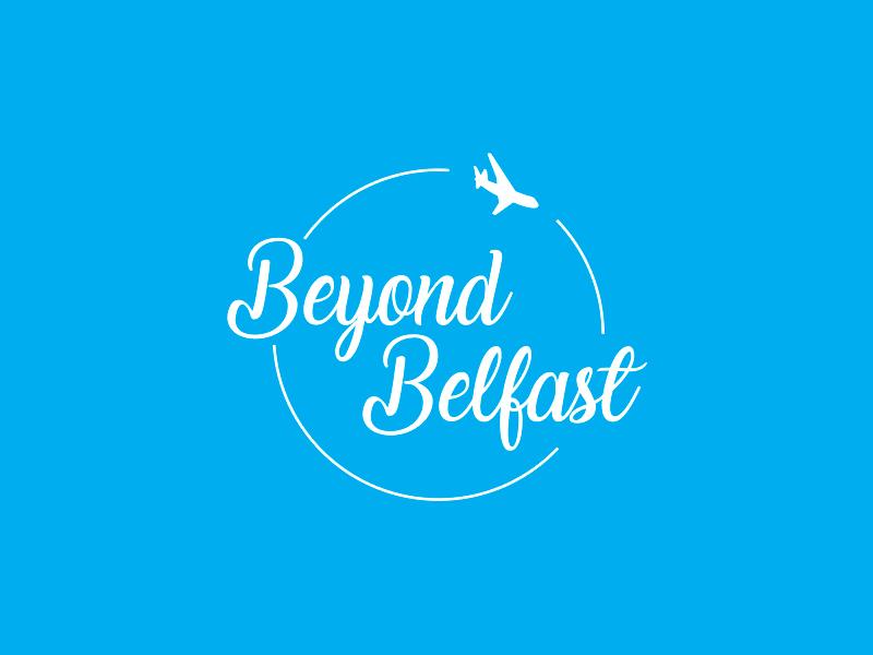 Beyond Belfast beyond belfast belfast project blog travel design logo