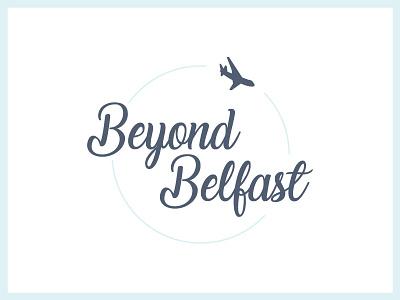 Beyond Belfast (Refined) travel blog logo design colour branding beyond belfast belfast