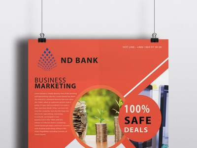 Standout Business Poster/Flyer design