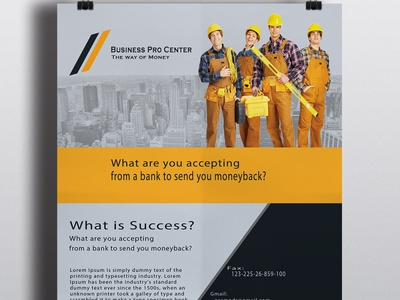 Business Professional Flyer/Poster Design