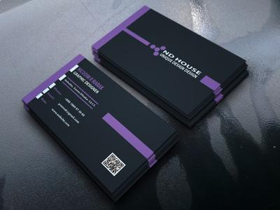 Luxury/Simple Business Card Design