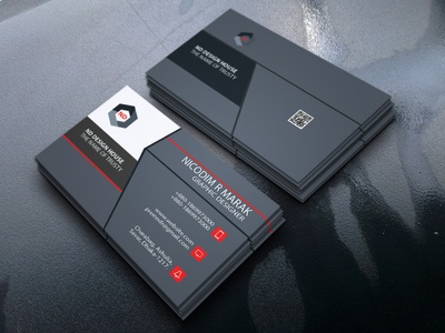 Simple eye-catching Business Card Design
