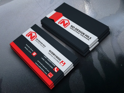Professional Standard Business Card Design