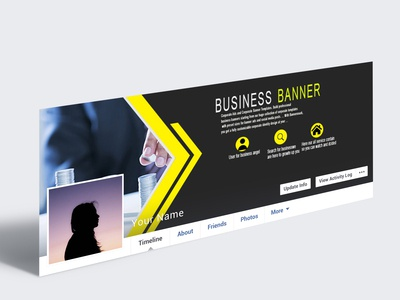 Simple Business Facebook Cover Page Design