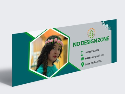 Simple Facebook cover page Design