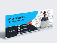 Eye-Cathcing Business Facebook Cover/Banner Design