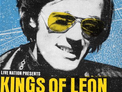 Kings of Leon Concert Poster