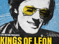 Kings of Leon Concert Poster