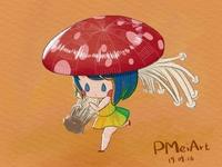 The Mushroom Girl