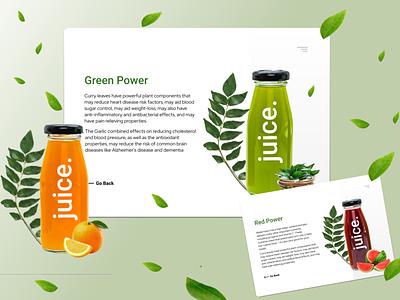 Juice Part-2 design ux ui