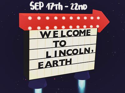 Lincoln Calling 2018 Lineup Teaser graphic animation lincoln branding adobe illustrator nebraska design animated adobe animation 2danimation