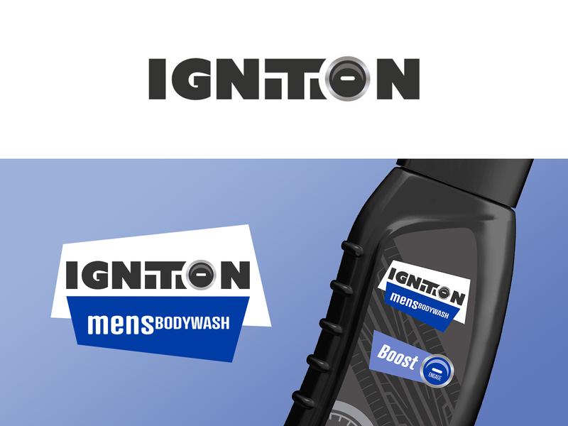 Ignition Case Study cars hygiene body wash auto adobe photoshop adobe illustrator case study branding adobe logo