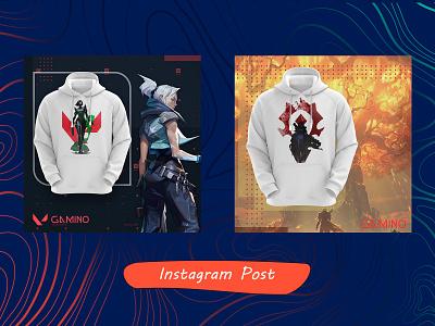 instagram post for gamino طراحی گرافیک پست اینستاگرام psd poster post photoshop isntagram design