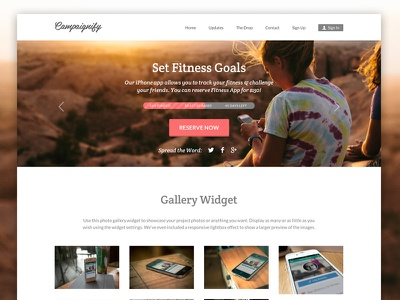 Campaignify - WordPress Crowdfunding Theme charity crowd funding crowd sourcing crowdfunding donations easy digital downloads ecommerce fund raising funding fundraising indiegogo kickstarter responsive wordpress