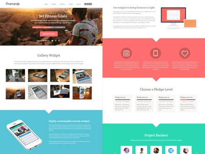 Campaignify Theme Full Layout wordpress responsive kickstarter indiegogo fundraising funding fund raising ecommerce easy digital downloads donations crowdfunding crowd sourcing crowd funding charity