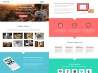 Campaignify Theme Full Layout