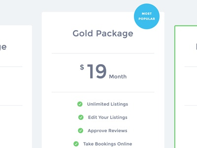 Exploring Pricing Table Designs