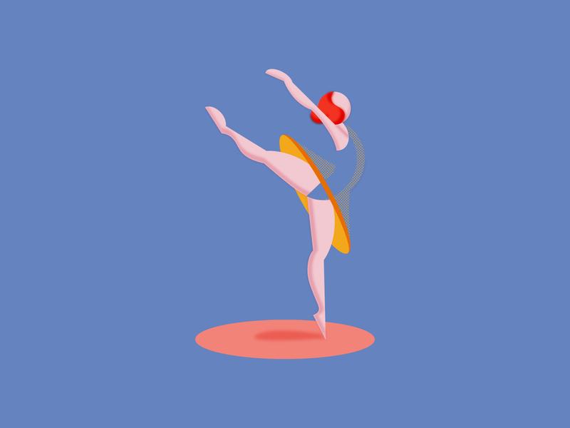 Balancing design graphic poser carefree ballet ballerina balancing dance poses pose vector exercise illustration design humanillustration design art illustration designdaily adobe illustrator