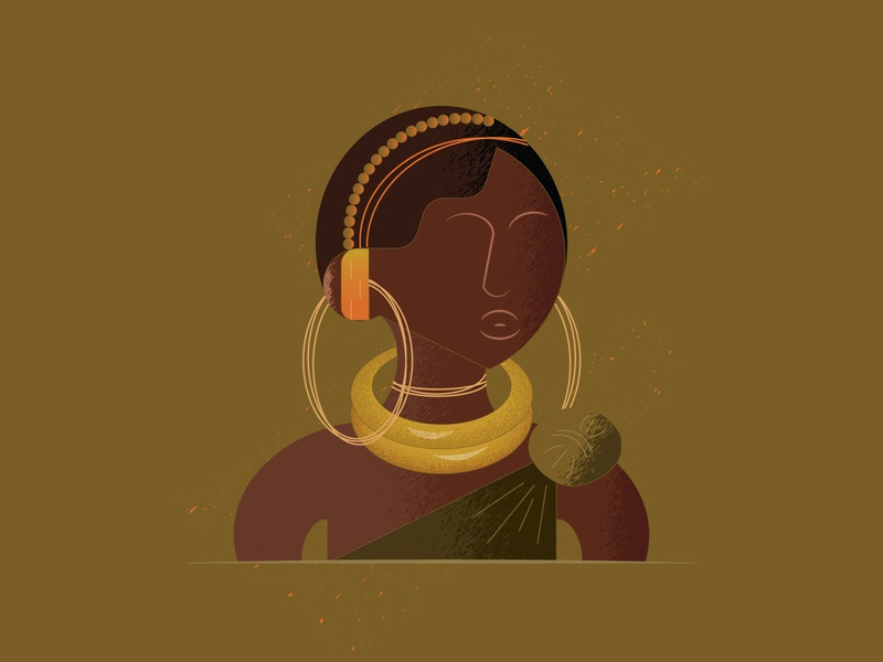 Gadaba Tribe 2d character 2d art flat 2d vector illustration vectorart graphicdesign graphic indian tribe gadaba tribe vector humanillustration tribal art tribal tribes tribe design illustration designdaily adobe illustrator