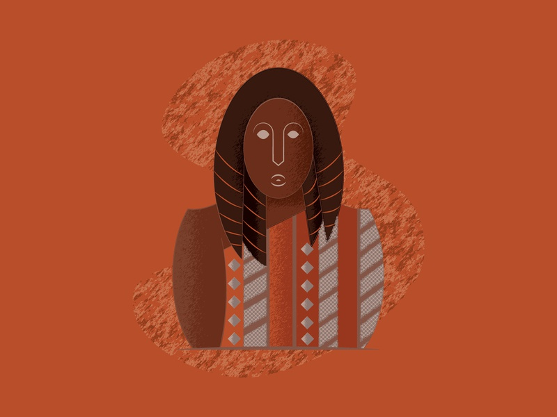 Toda Tribeswoman 2d character 2d art flat tribal indian tribe toda tribe toda tribe texture tribal art tribes tribe graphic design humanillustration vector illustration design design art illustration designdaily adobe illustrator