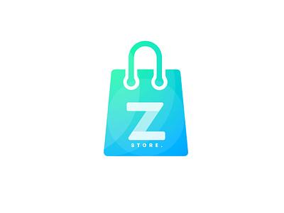 ZStore Creative Modern Logo Design creative modern logo modern logo gradient logo gradient modern logo letter logo z z logo z letter logo z letter logo design zstore logo zstore