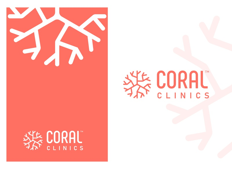 Coralclinics Medical Logo Design living coral flat logo design creative logo design clinics logo clinics logo design pharmacy logo design pharmacy logo medical logo medical logo design