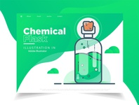 Chemical Flask Loading web page