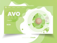 Avocado Landing web Page Design