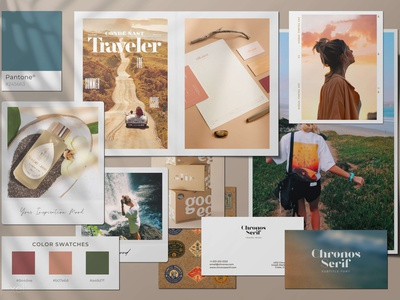 The Ultimate Moodboard Kit templates template design collage photoshop businesscard moodboard kit moodboard template moodboard kit template polaroid kodak pantone color swatches