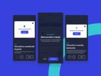 Nubi - User Onboarding web app mobile money bank indicius platform dashboard illustration design ui ux argentina fintech paypal nubi