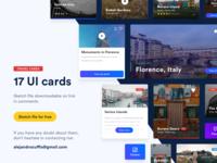 Free UI Cards