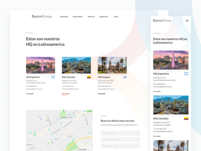Bayton Group Website - Contact & Locations