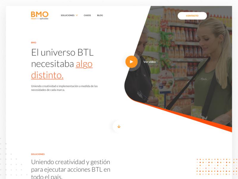 Bayton BMO - Landing Page marketing website ideas creativity ui ux argentina indicius group bayton landing page