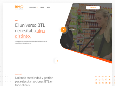 Bayton BMO - Landing Page marketing website ideas creativity ui ux argentina indicius group bayton landing page