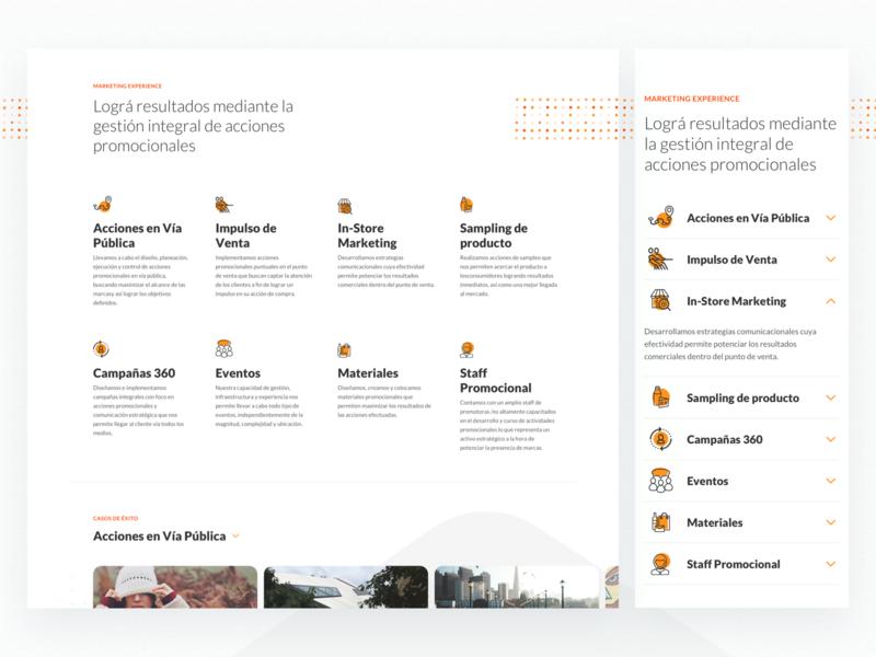 Bayton BMO - Internal Page marketing website ideas creativity ui ux argentina indicius group iconography bayton internal page