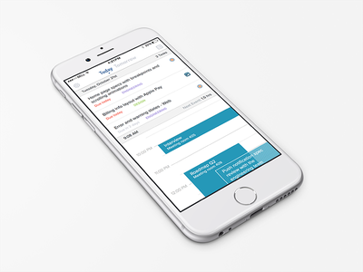 Workday Dashboard iphone 6 homepage ios app