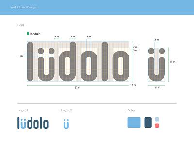 Logo Grid and Application system grid app icon identity branding identity logo