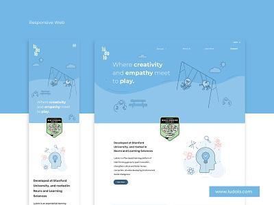 Web Responsive Design icons illustrations web desktop mobile landing responsive