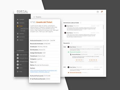 Portal de Distribuidores dashboard card design web user center design ui platform redesign research ux