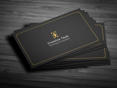 Minimalist Corporate Business Card