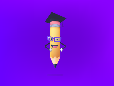 Mascot for Student Learning App mascot