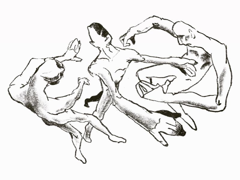 Floating animals space moving illustrator artist illustration blackandwhite sketch floating darkart concept expressionism abstractart weirdart art