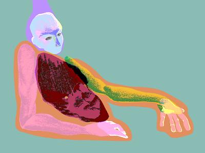 Morph weirdart color darkart contemporary art expressionism design illustration sketch art