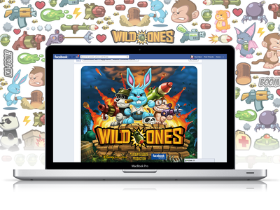 WILDONES | Disney Interactive | facebook gaming