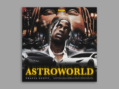 Travis Scott: Cover Redesign